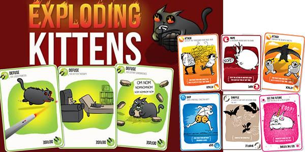 Exploding Kittens cómo jugar