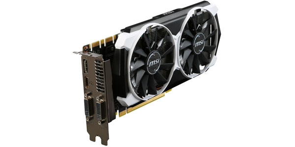 msi geforce gtx970 armor 2x oc 4gb gddr5 caja