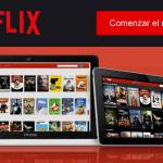 suscripción Netflix gratis