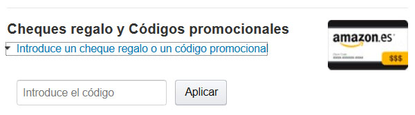 ofertitas codigo promocional amazon