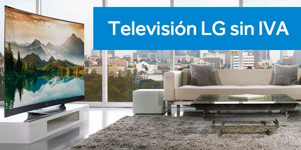 Día sin IVA en televisores LG