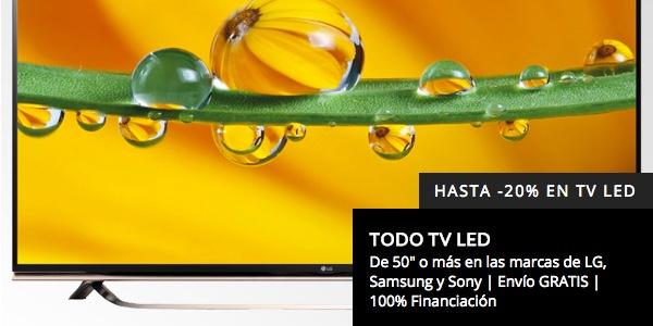 TV LED 4K barata El Corte Inglés