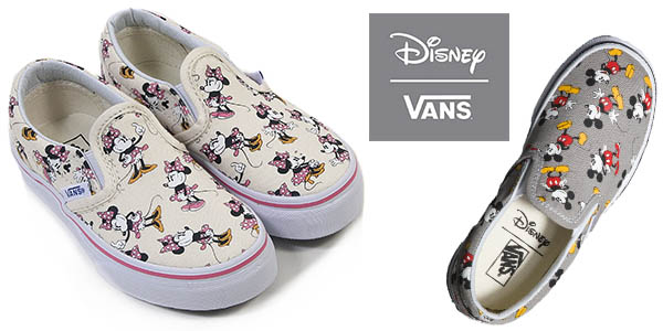 163904b03f26b Zapatillas Vans U Classic Slip-On Disney Junior a partir de 38