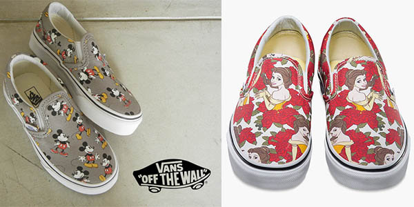 zapatillas vans de mickey