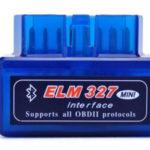 Diagnóstico coche Moonar Mini ELM327 Interfaz V2.1 Bluetooth OBD-II