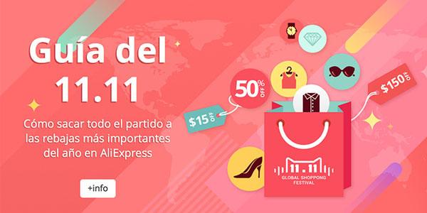 AliExpress España y las ofertas del 11 noviembre