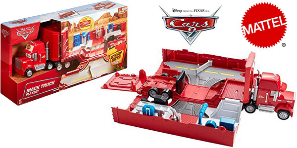 chollo cami n mack de cars 2 mattel por 17 99. Black Bedroom Furniture Sets. Home Design Ideas