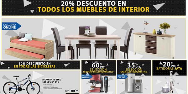 Carrefour black friday 2015 fechas y descuentos for Black friday muebles