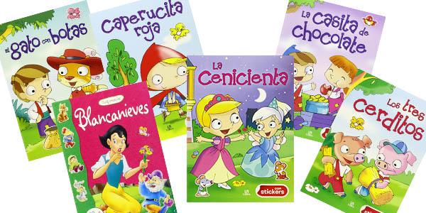 Chollazo libros infantiles color n colorado con pegatinas for Pegatinas de pared infantiles
