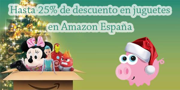 Descuentos juguetes Amazon España