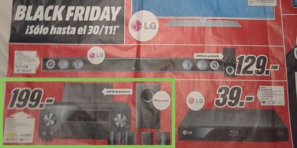 Catálogo Black Friday de una tienda famosa