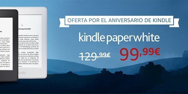 Kindle Paperwhite al mejor precio