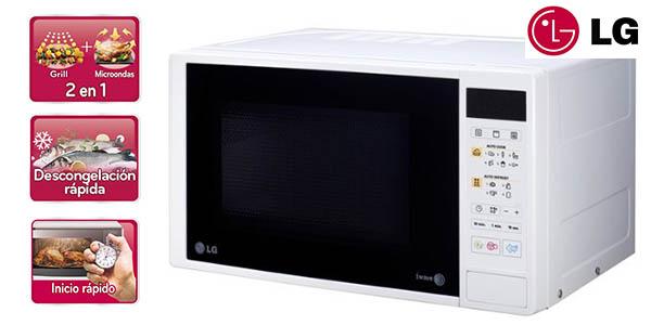 Cocinar en microondas con grill pollo electrodomsticos for Cocinar microondas