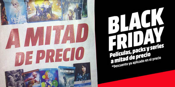 Media Markt aplicará un 50% en el Black Friday 2015