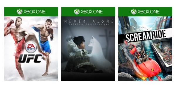 Ofertas con Gold Xbox 10-11-2015
