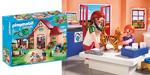 oferta cl nica veterinaria playmobil city life por s lo 43