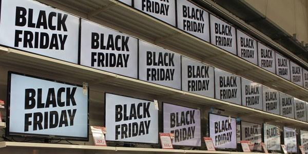 Televisores baratos en el viernes negro