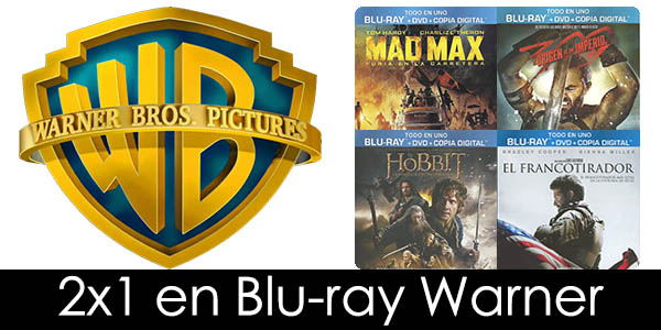 Promoción 2x1 Blu-ray Warner