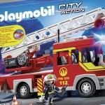 Camión de bomberos Playmobil barato
