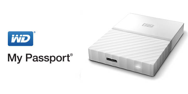 Disco duro portátil WD My Passport 3TB