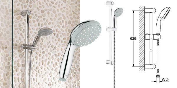 Columna de ducha grohe tempesta new classic al mejor precio for Ducha termostatica grohe