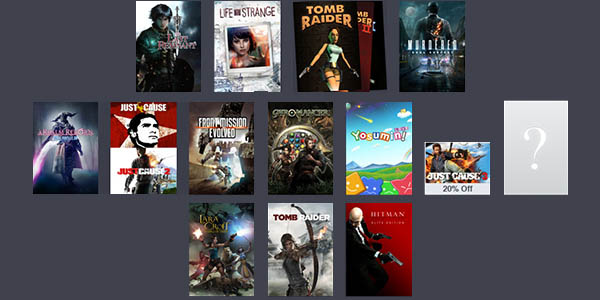 Humble Square Exix Bundle 3
