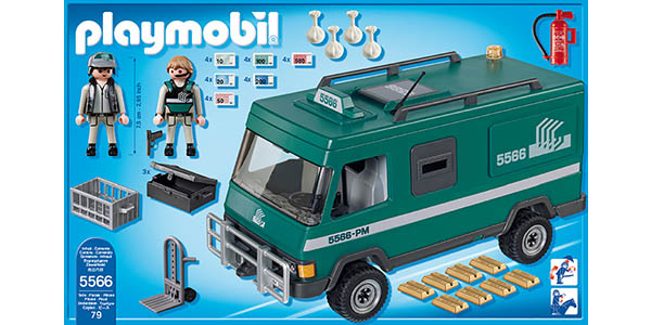 Piezas del set Playmobil 5566