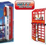 playmobil estación bomberos