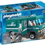 Playmobil Vehículo para transportar dinero