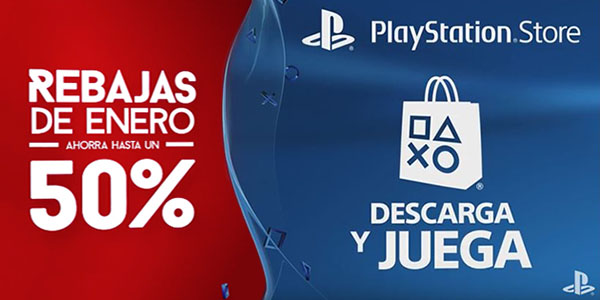 Rebajas Enero PS Store