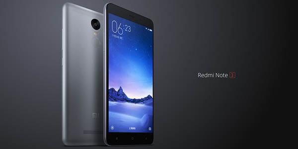 Smartphone libre REDMI Note 3