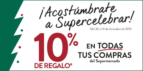Supermercado de El Corte Inglés cupón Nochevieja 2015