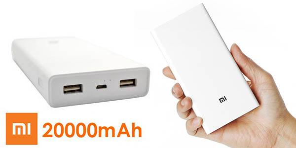 Batería portátil Xiaomi 20.000 mAh