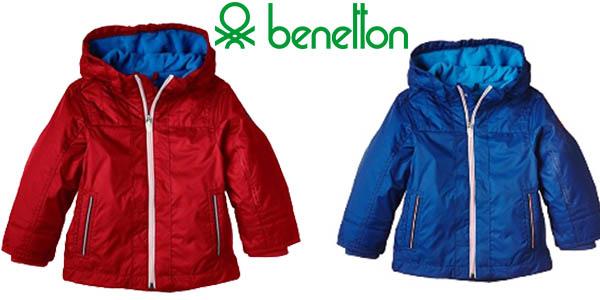 Chaqueta infantil de Benetton