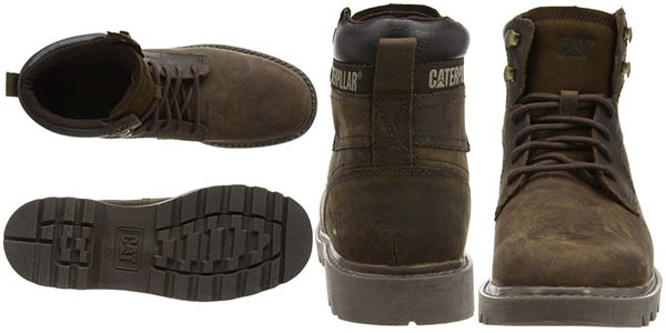 Detalles botas chukka Caterpillar Bridgeport