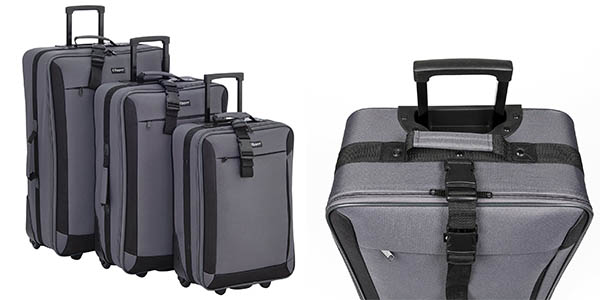 Chollazo conjunto de 3 maletas de viaje clipper por s lo - Maleta viaje carrefour ...
