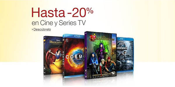 Hasta -20% Cine y Series