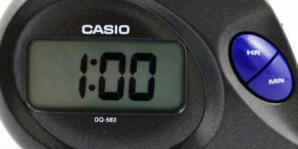 Despertador negro Casio