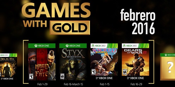 Juegos Gratis Con Xbox Live Gold Febrero 2016