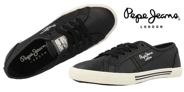 35488c1bb00f4 zapatillas pepe jeans mujer baratas