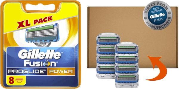 Recambios Gillette Fusion Proglide Power baratos