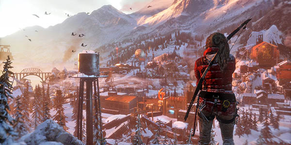 Gameplay Rise of the Tomb Raider PC