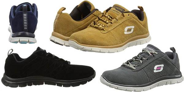 2a7404cb11b85 Zapatillas deportivas para mujer Skechers Flex Appeal Casual Way ...