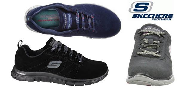 b3418fcef30 Zapatillas deportivas para mujer Skechers Flex Appeal Casual Way ...
