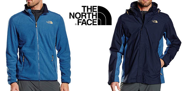 chaqueta north face triclimate