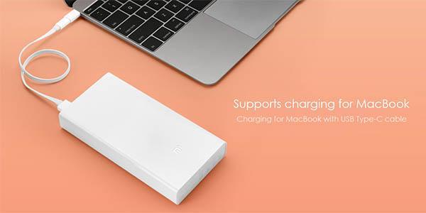 Batería externa Xiaomi 20.000 mAh
