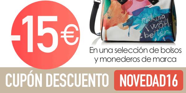 15€ descuento bolsos de marca