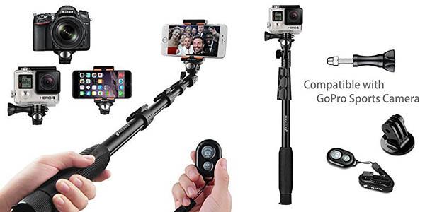 palo selfie telesc pico arespark muy barato en amazon. Black Bedroom Furniture Sets. Home Design Ideas