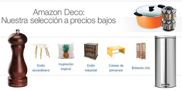 Descuentos en Amazon deco