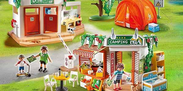 Juguete Playmobil set camping vacaciones